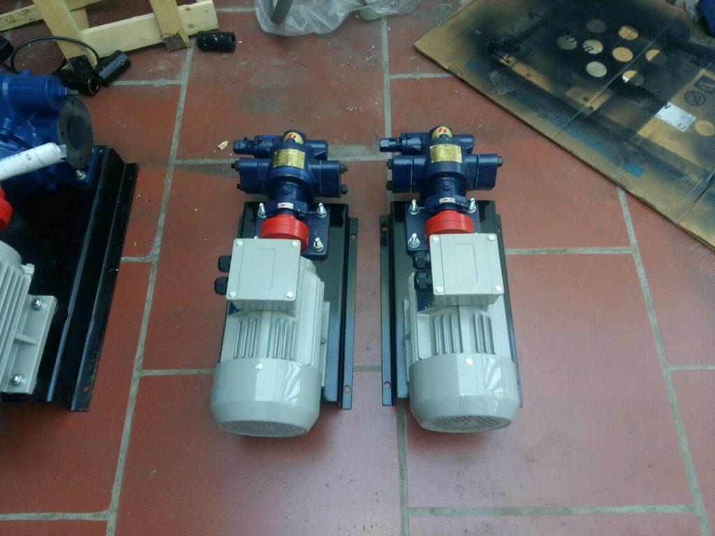 Phân loại máy bơm trục vít 2 trục